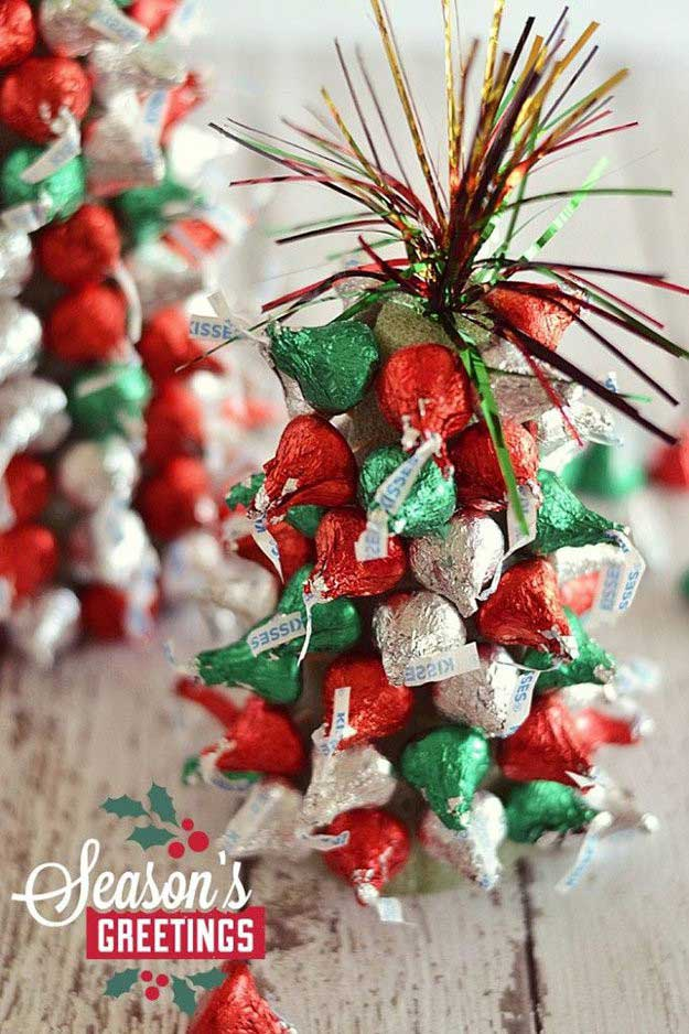 kiss mas tree diy christmas centerpiece ideas to complete your table