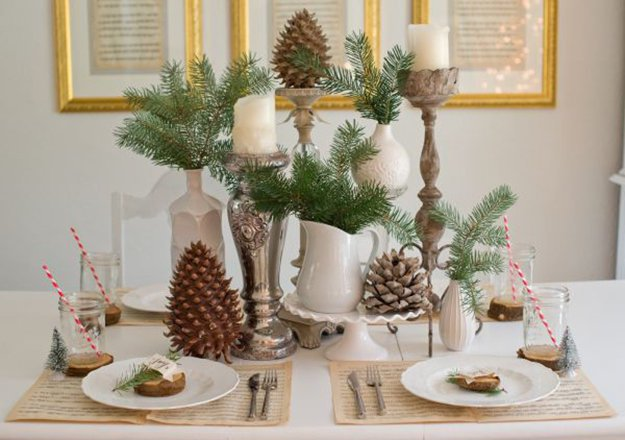 rustic christmas centerpiece diy christmas centerpiece ideas to complete your table - Rustic Christmas Centerpieces