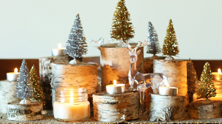 Simple christmas decor diy projects craft ideas how to s for Simple christmas home decorations