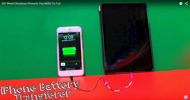 iPhone Battery Transferer | Weird DIY Christmas Gifts You Need To Try