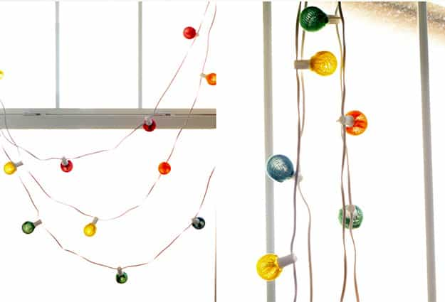Diy Construction String Lights : DIY String Lights To Decorate Your Rooms DIY Projects