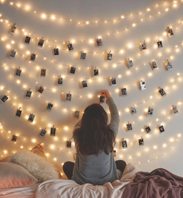 DIY String Lights To Decorate Your Rooms