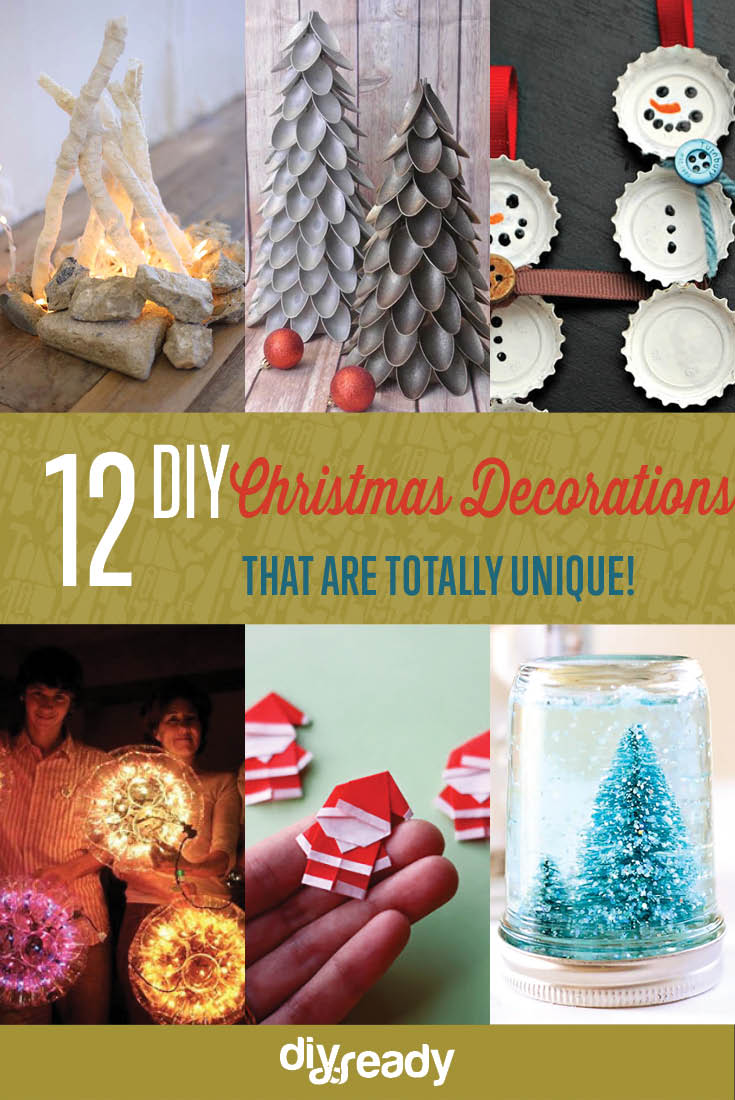 Unique Diy Christmas Decorations Cover
