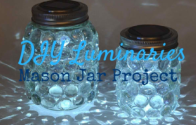 Mason jar luminaries diy projects craft ideas how to s for Projects to do with mason jars