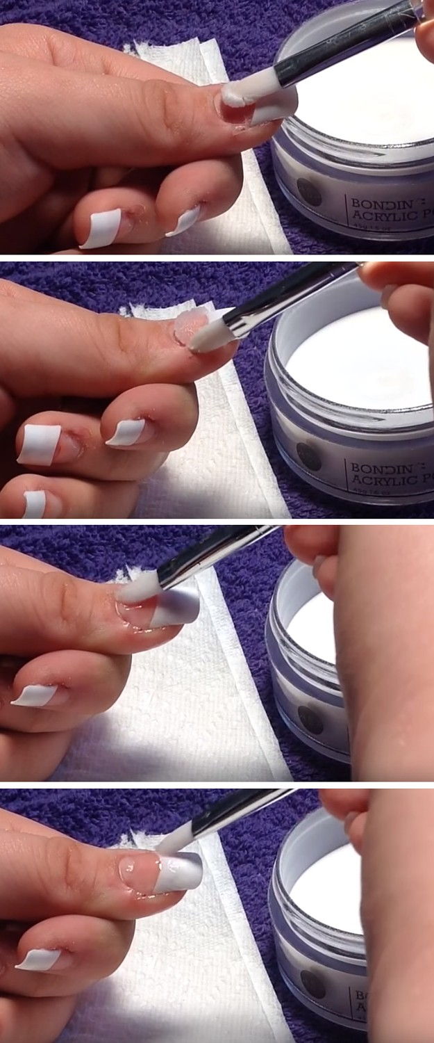 Acrylic Application|DIY Acrylic Nails