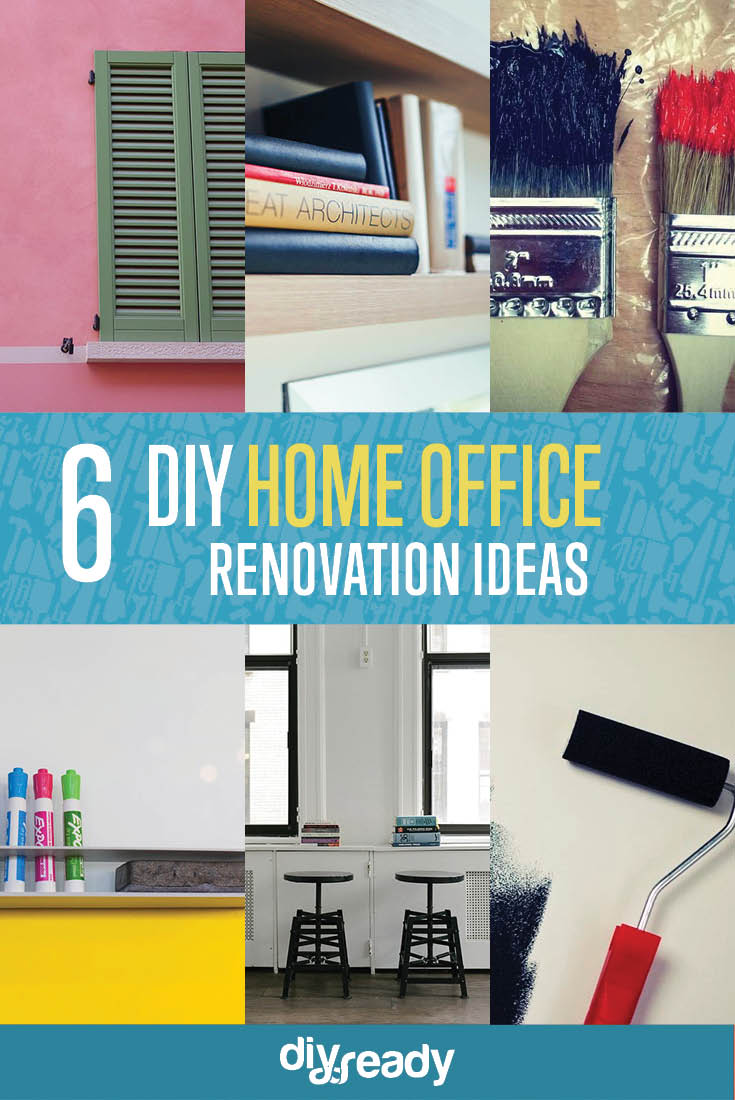 diy office projects. Office Diy Projects. 6 Cool Home Ideas | Renovation Projects D P