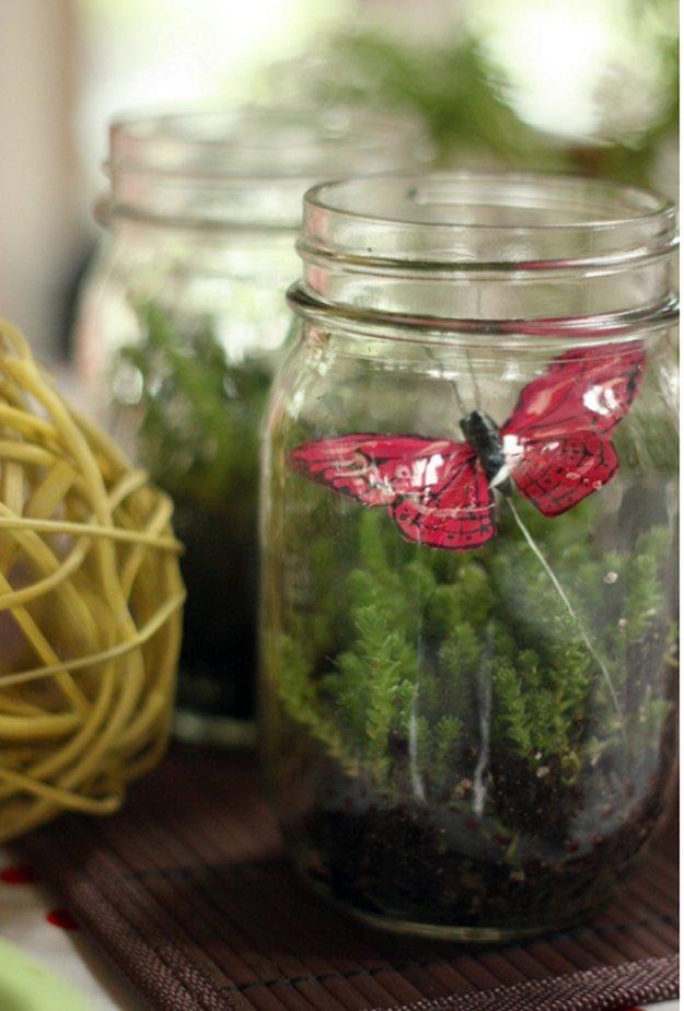 Mini Mason Jar Terrarium|23 DIY Crafts With Mini Mason Jars
