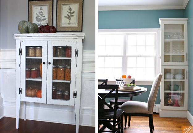 7 DIY Display Cabinet Project Ideas
