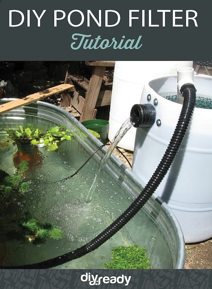Pond filter tutorial diy projects craft ideas how to s for Keeping ponds clean without filter