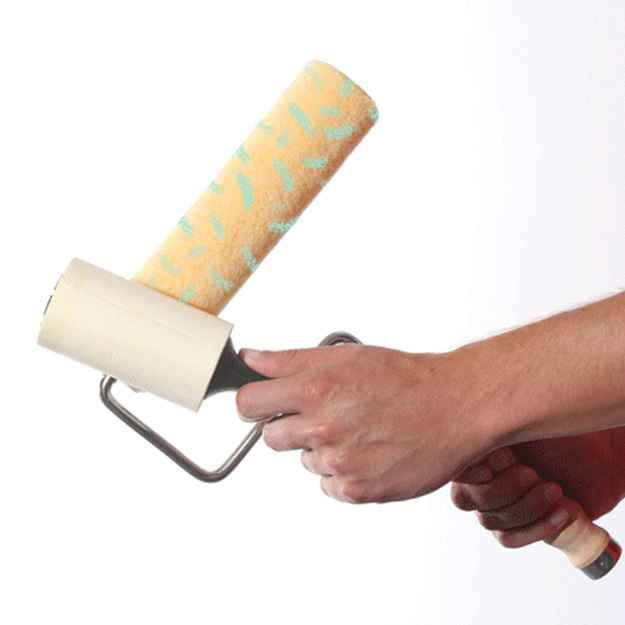 Lint Roller | DIY Projects | 11 DIY Painting Tricks For A Successful Home Transformation
