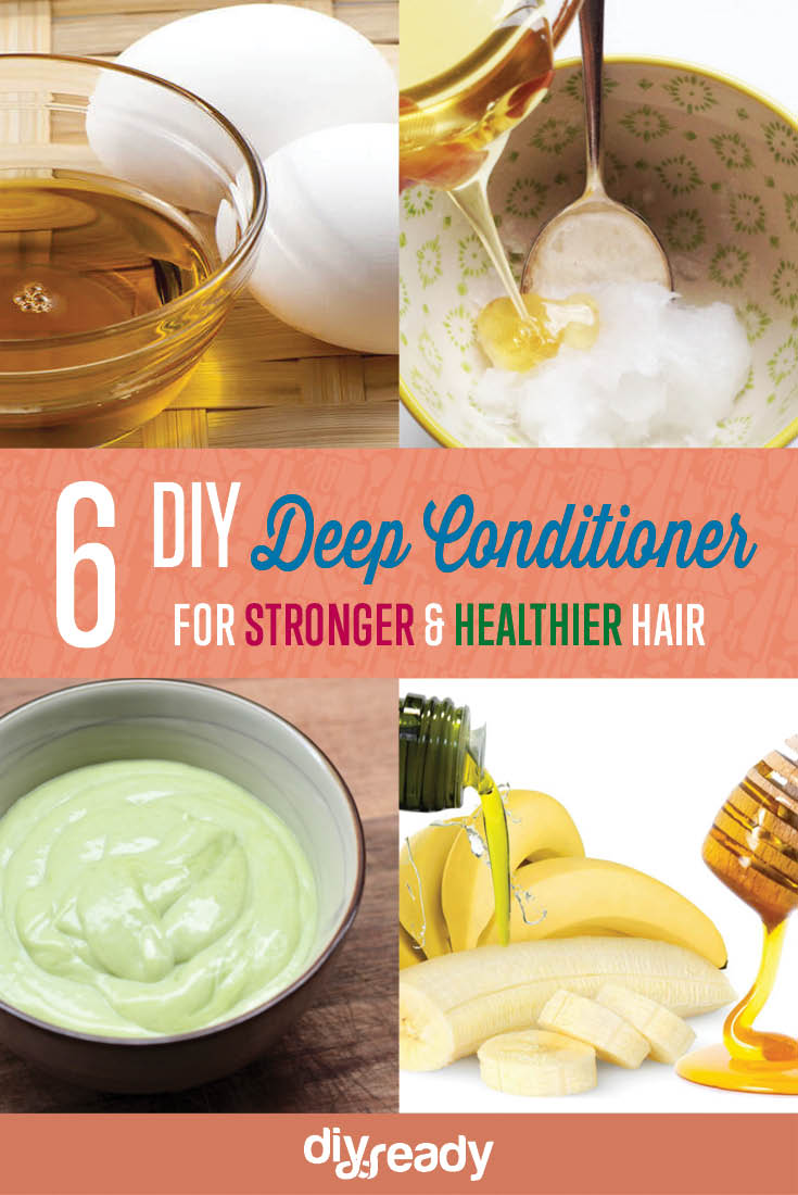 6 DIY Deep Conditioner Recipes