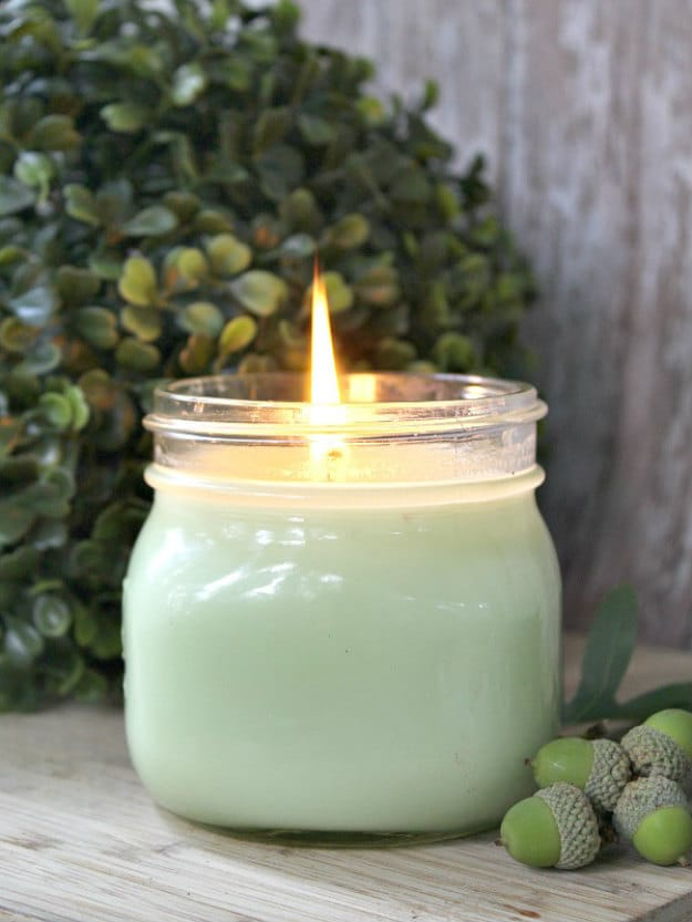 Eucalyptus Soy Candle | DIY Soy Candles | 15 Addictive Scents You Will Love