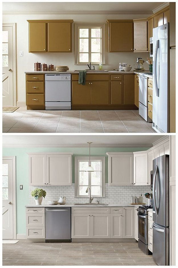 kitchen cabinet door refacing cabinet refacing ideas diy projects craft ideas amp how to s 18579