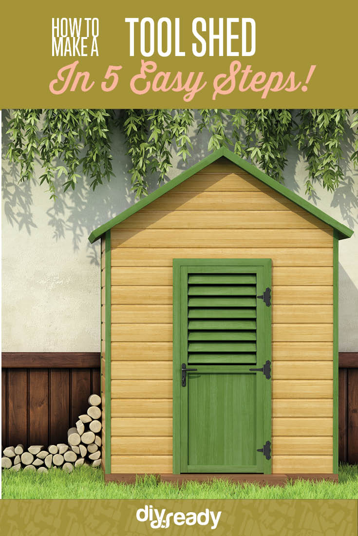 Build a Tool Shed in 5 Easy Steps