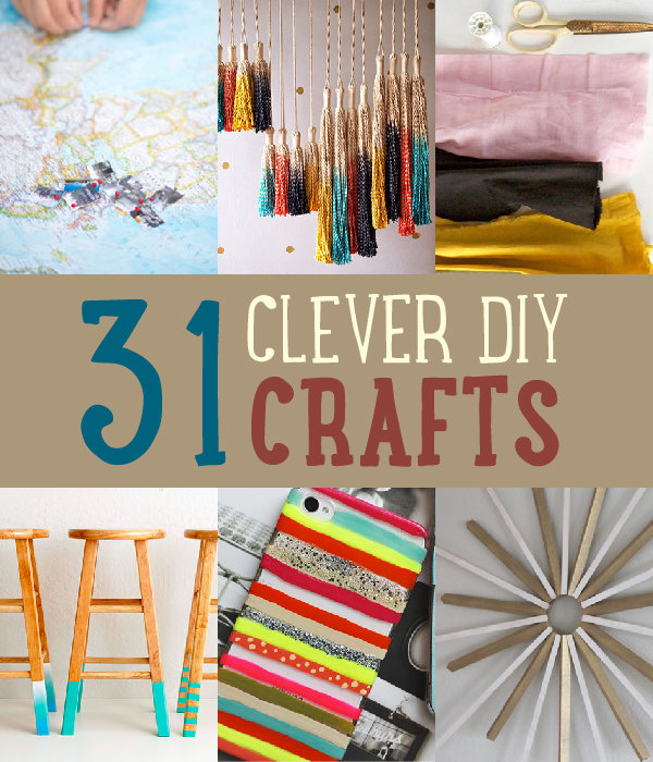 Save On Crafts | 31 Easy DIY Crafts https://diyprojects.com/easy-diy-crafts/
