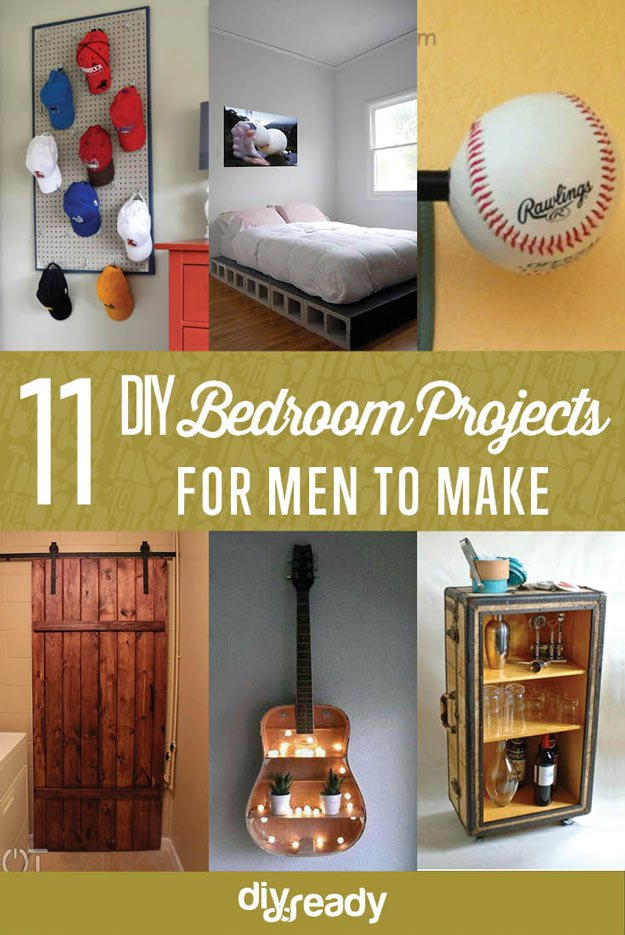 Bedroom ideas for men diy projects craft ideas how to s for Craft projects for guys