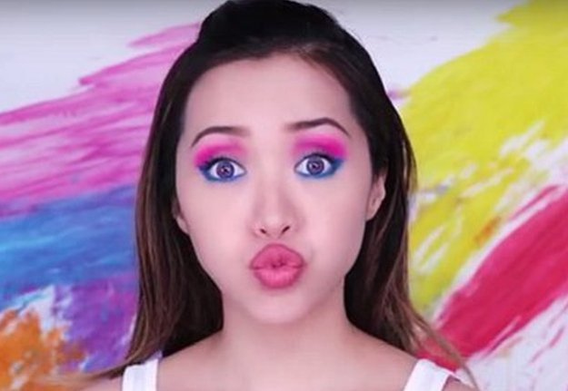 Rowdy Spring Party Makeup Tutorial