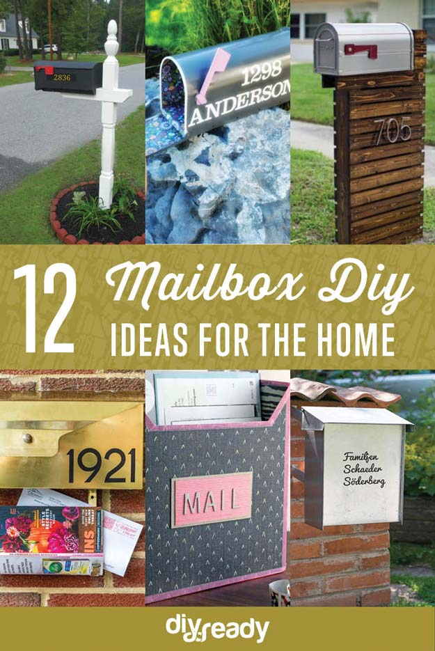 Diy Mailboxes Project Ideas Diy Projects Craft Ideas Amp How