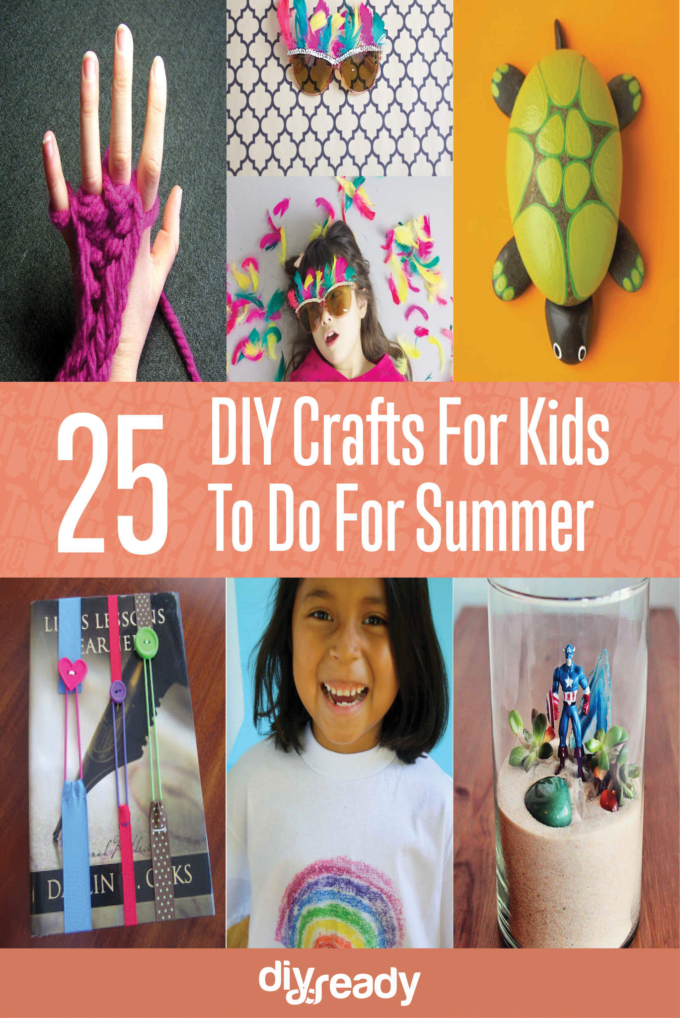 25 DIY Crafts for Kids To Do For Summer