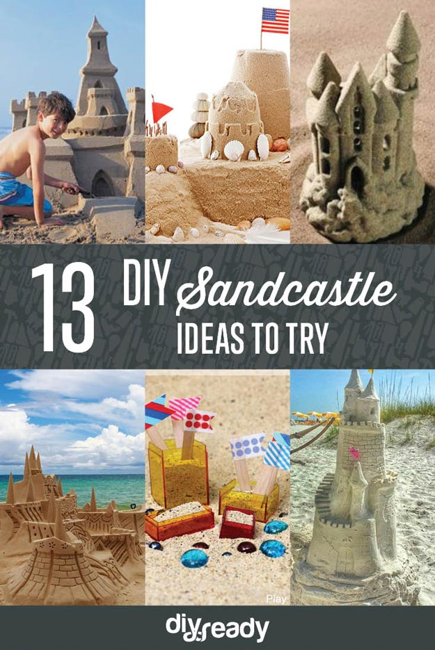 Sandcastle Ideas DIY Projects Craft Ideas Amp How Tos For
