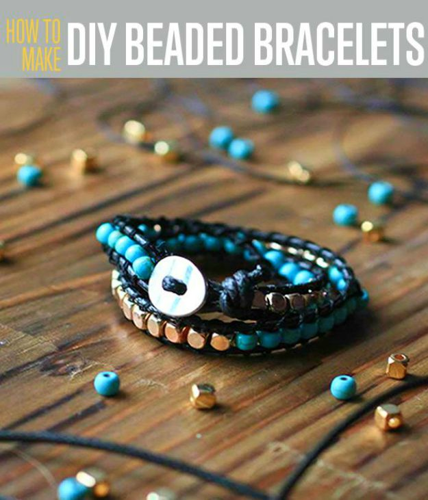 DIY beaded bracelets | DIY Beaded Bracelets You Bead Crafts Lovers Should Be Making