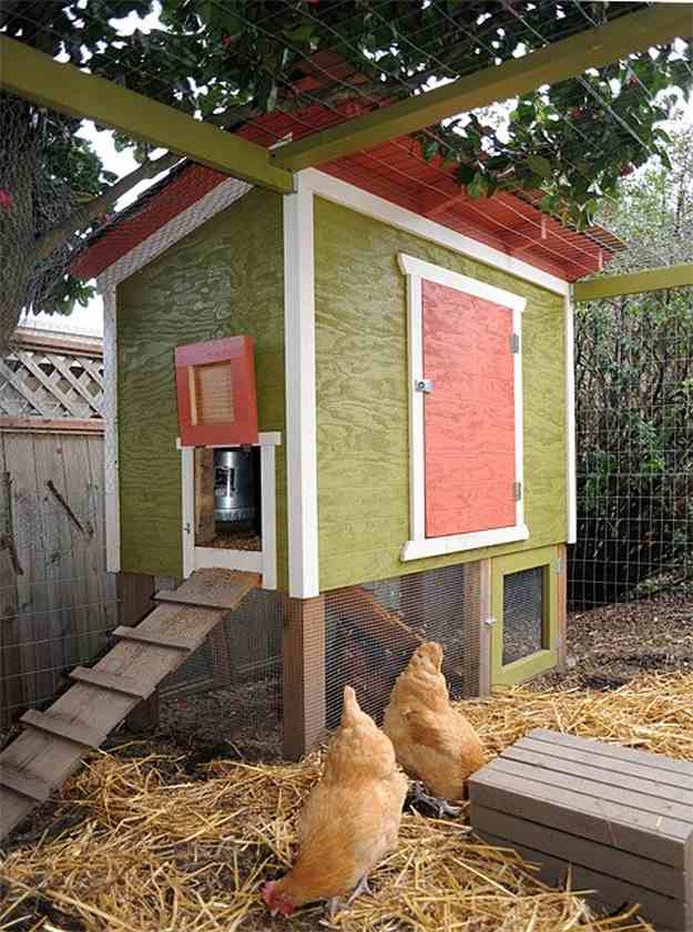 Urban Chicken Coop | Farmer's Backyards: Amazing DIY Chicken Coop Ideas For You