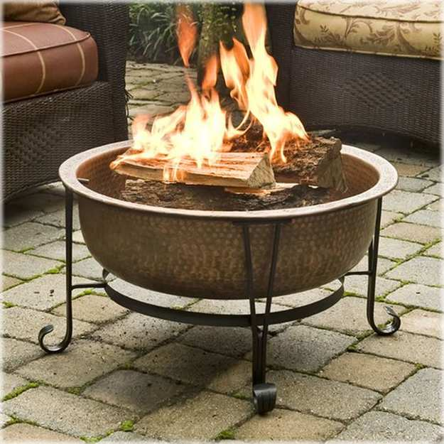 Ceramic Fire Pit | Unique DIY Fire Pit Ideas