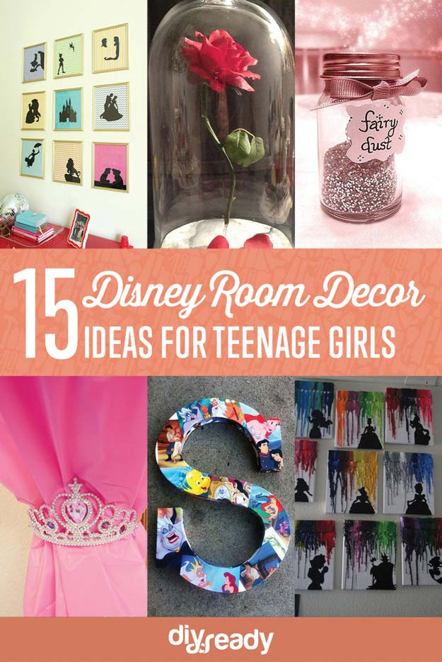 15 Enchanted DIY Teen Girl Room Ideas For Disney Fans | DIY Bedroom Ideas On A Budget For First Time Home Owner