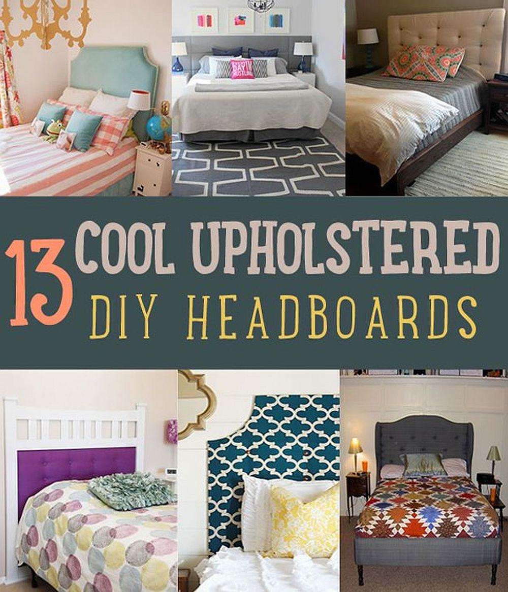 Craft The Perfect Bedroom with These Cool DIY Upholstered Headboards | DIY Projects's Ingenious DIY Hacks For Home Improvement