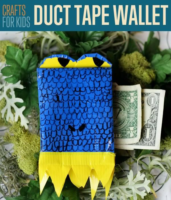 How To Make A Duct Tape Wallet DIY Crafts For Kids | DIY Projects's Ingeniously Easy DIY Projects To Entertain Kids
