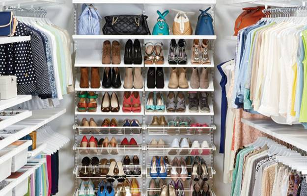 Full Closet Closet Organizer Ideas | Chic Ideas In Organizing Bedroom Closets, Clothing and Accessories