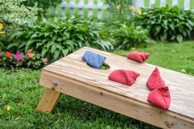 Check out 21 Creative Corn Hole Boards To Inspire Your Next Backyard Game Night at https://diyprojects.com/corn-hole-boards-backyard-game-night/