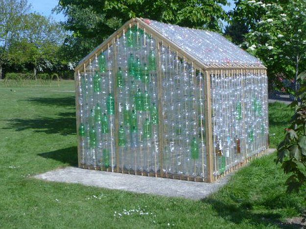 Beautiful diy greenhouses ideas diy projects craft ideas for Homemade greenhouse plastic