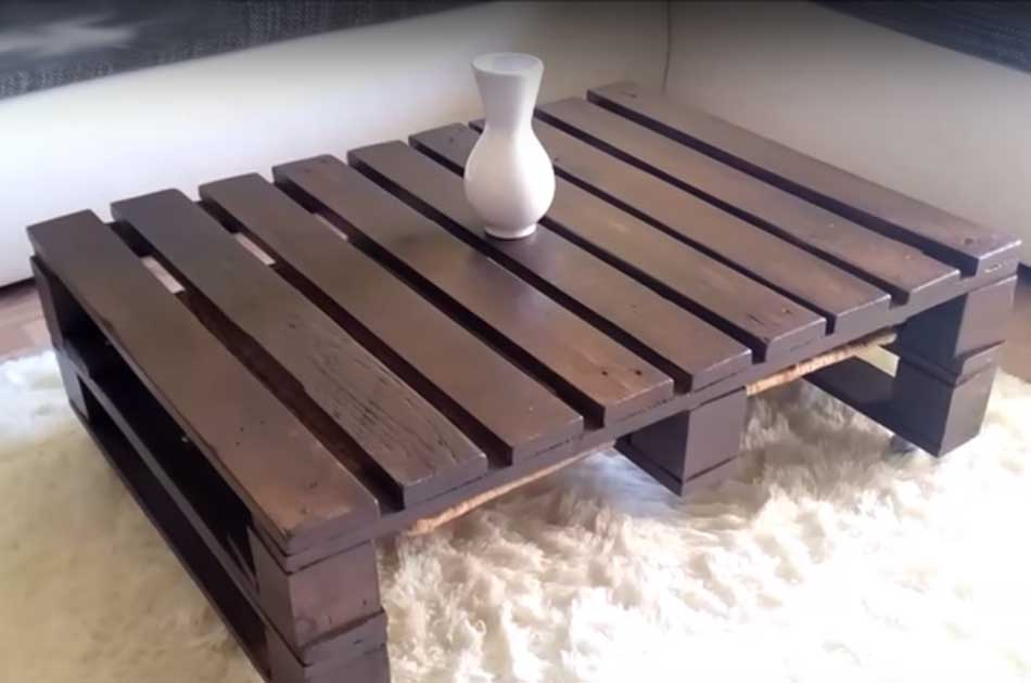 How to make coffee table out of pallet diy projects craft ideas how to s for home decor with - How to make table out of wood pallets ...