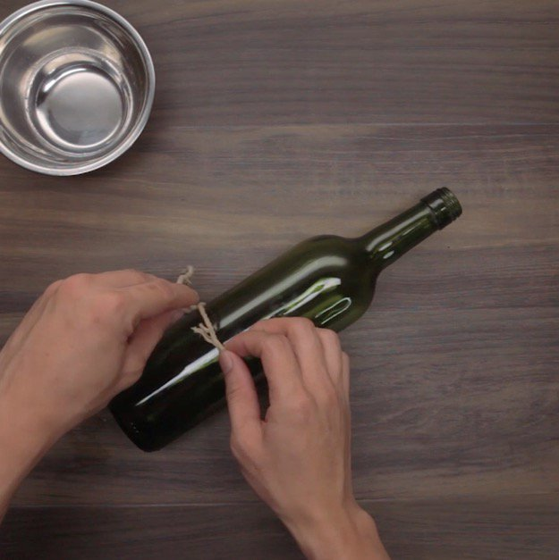 Make Your Own Wine Bottle Lights Step Three