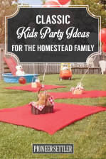 Classic Kids Party Ideas