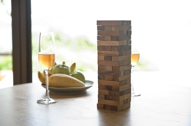 Check out This DIY Giant Jenga Will Change The Way You Play The Game at https://diyprojects.com/diy-giant-jenga-game/