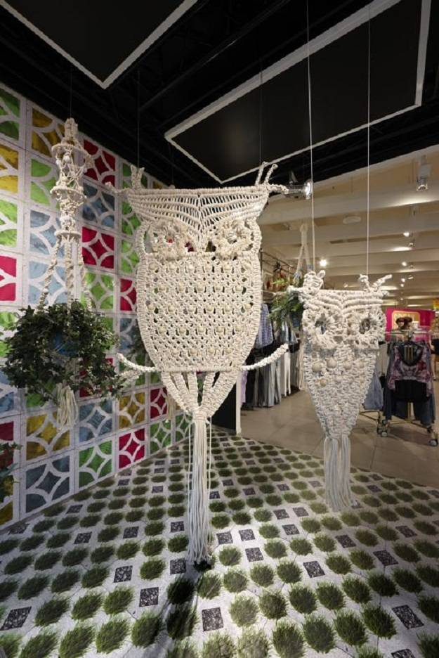 Giant Owl Macrame Wall Hangings | Inspiring Macrame Wall Hangings Ideas For Your Home