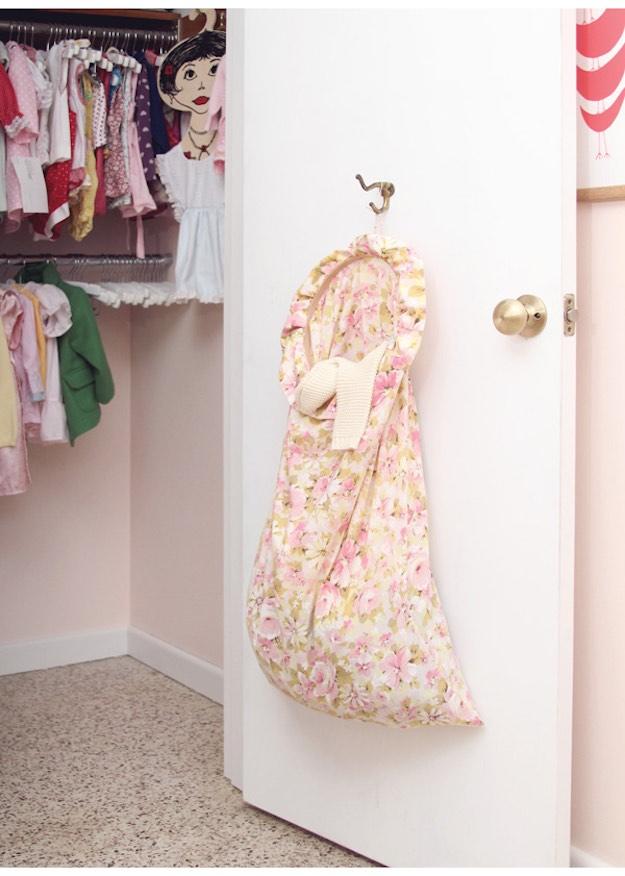 Pillowcase Hamper | Genius Laundry Storage Ideas You Can DIY