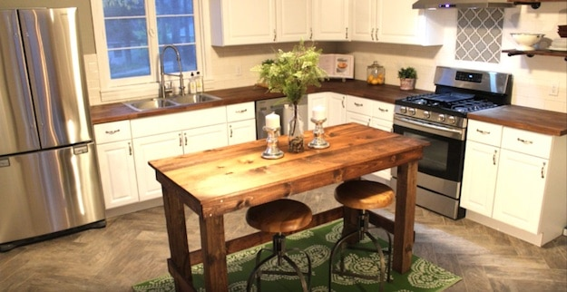 20 Kitchen Island Simple Diy Kitchen Island Ideas