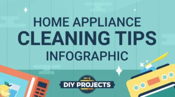 10 Home Appliance Maintenance and Cleaning Tips And Tricks You Must Know (INFOGRAPHIC)