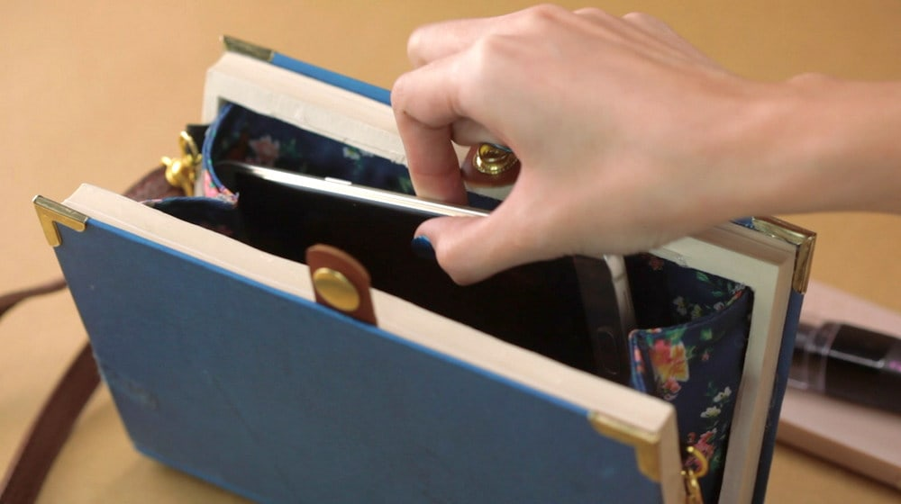 How To Make A DIY Book Clutch | DIY Projects