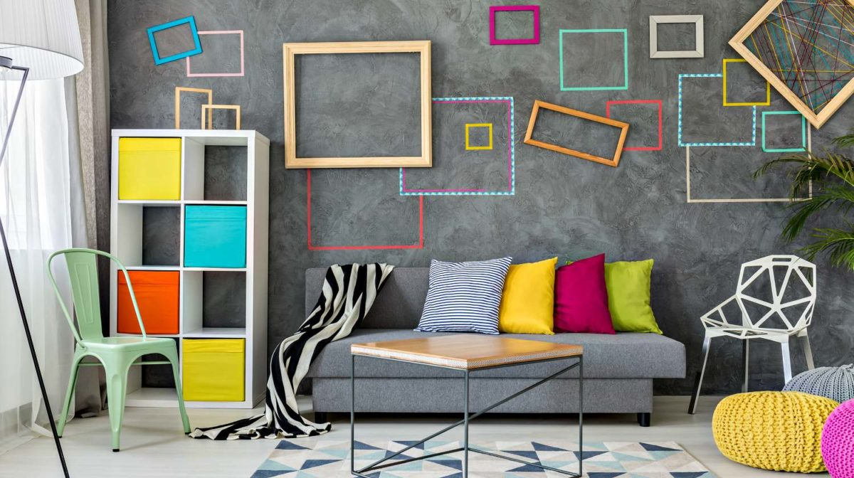 excellent living room wall design ideas | 13 Simple Living Room Shelving Ideas | DIY Projects