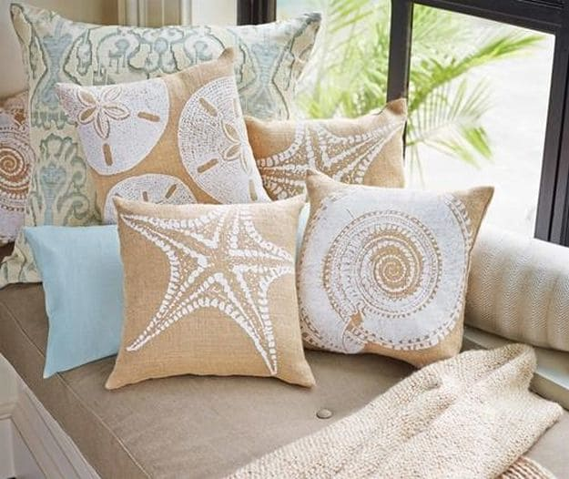 Starfish | Beachy Living Room Ideas To Get The Sand, Sun, and Waves At Home