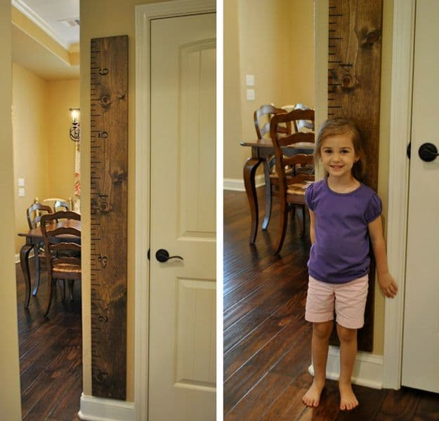 Life Size Ruler | DIY Pottery Barn Hacks