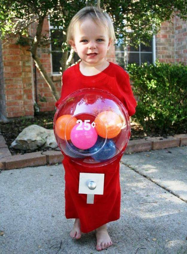 Kiddie Gumball Costume | Last Minute Halloween Costumes For Kids