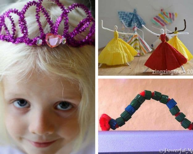 Pipe Cleaner Crafts | DIY Kids Crafts You Can Make In Under An Hour