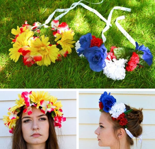 55 easy crafts to make and sell diy community diy flower crowns easy crafts to make and sell solutioingenieria Image collections