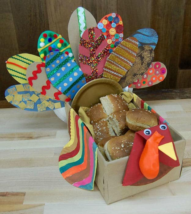DIY Turkey Table Treasure | Easy Kids Crafts For All Seasons