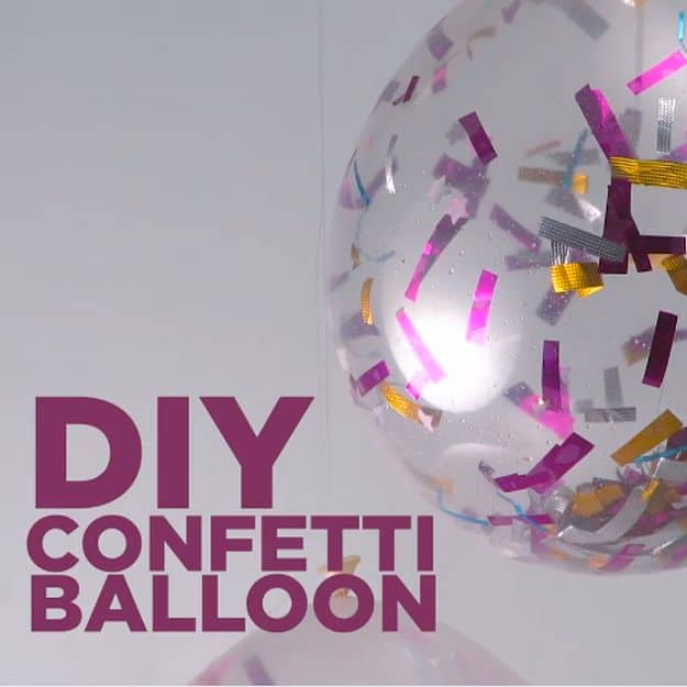 DIY Confetti Poppers! Make your NYE POP